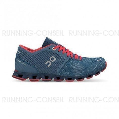 ON RUNNING Cloud X Femme Lake | Coral | Collection Automne Hiver 2018