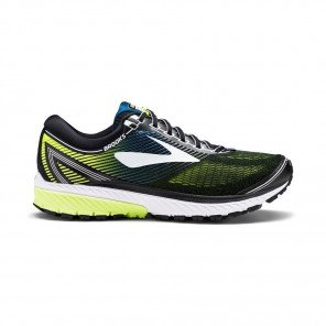 BROOKS Ghost 10 Homme Jaune / Noir / Blanc