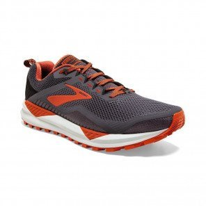 BROOKS CASCADIA 14 Homme | Black/Grey/Burnt Ochre