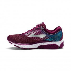 BROOKS Ghost 10 Femme Pourpre / Rose / Bleu Turquoise