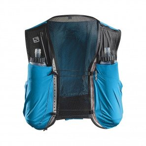 SALOMON - Sac / Gillet SENSE ULTRA 8 SET - transcend blue / black