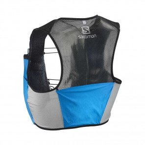 SALOMON - Sac / Gillet SENSE 2 SET - transcend blue / black