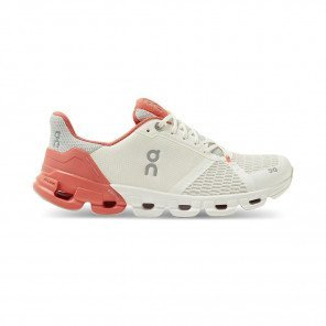 ON RUNNING Cloudflyer Femme White   Coral