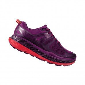 HOKA STINSON ATR 5 Femme | Grape Juice / Poppy Red
